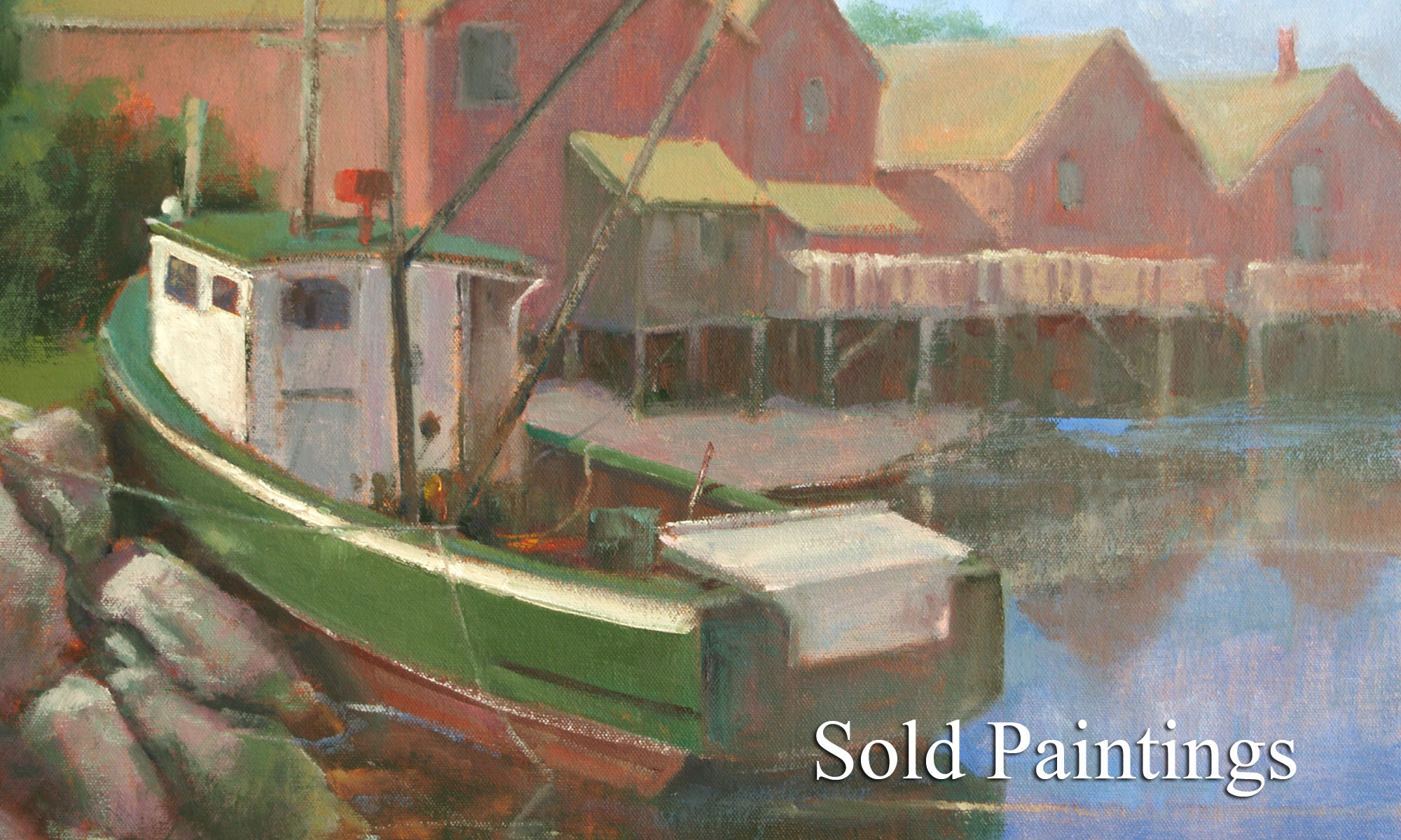 Sold Paintings by Artist Michael Chesley Johnson
