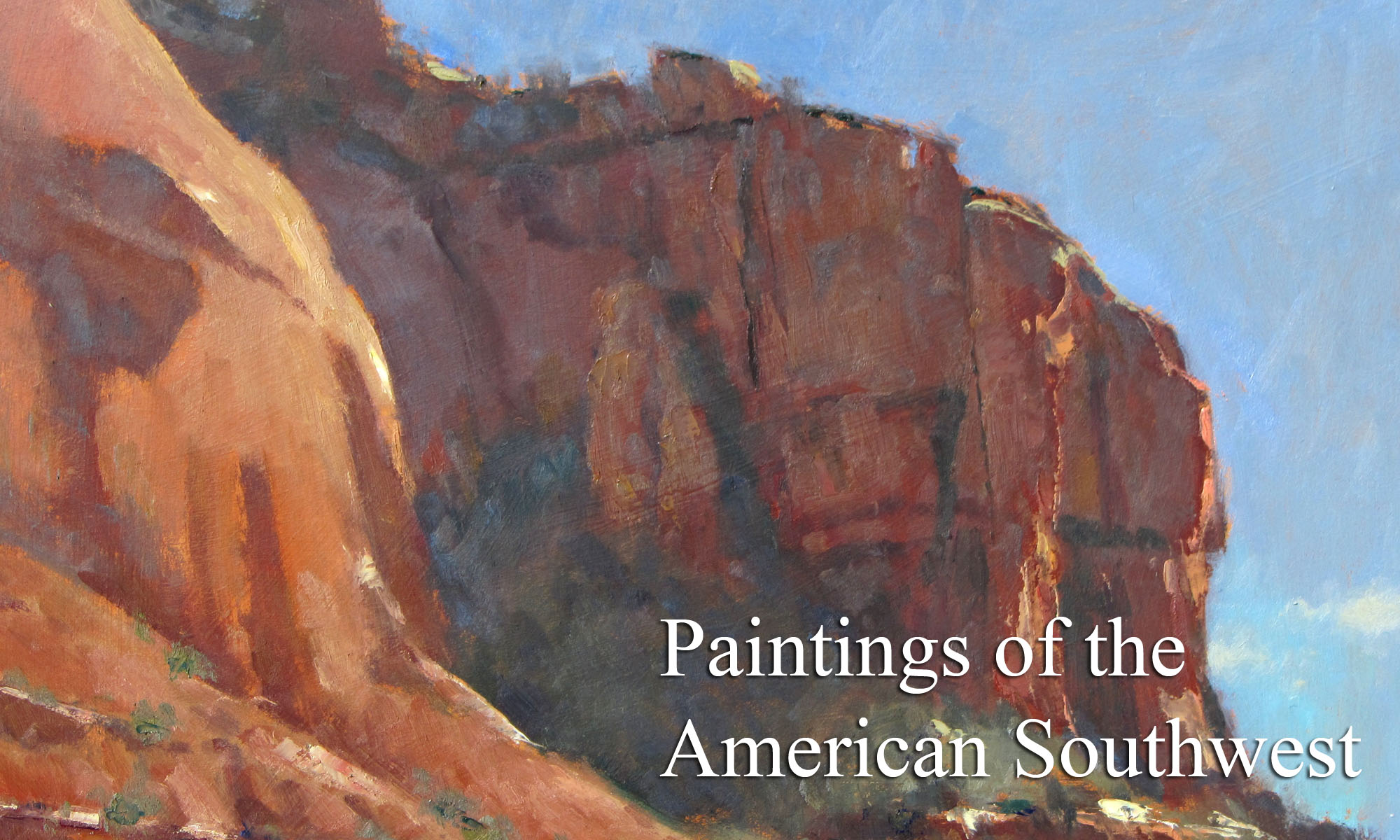 Paintings of the American Southwest by Artist Michael Chesley Johnson