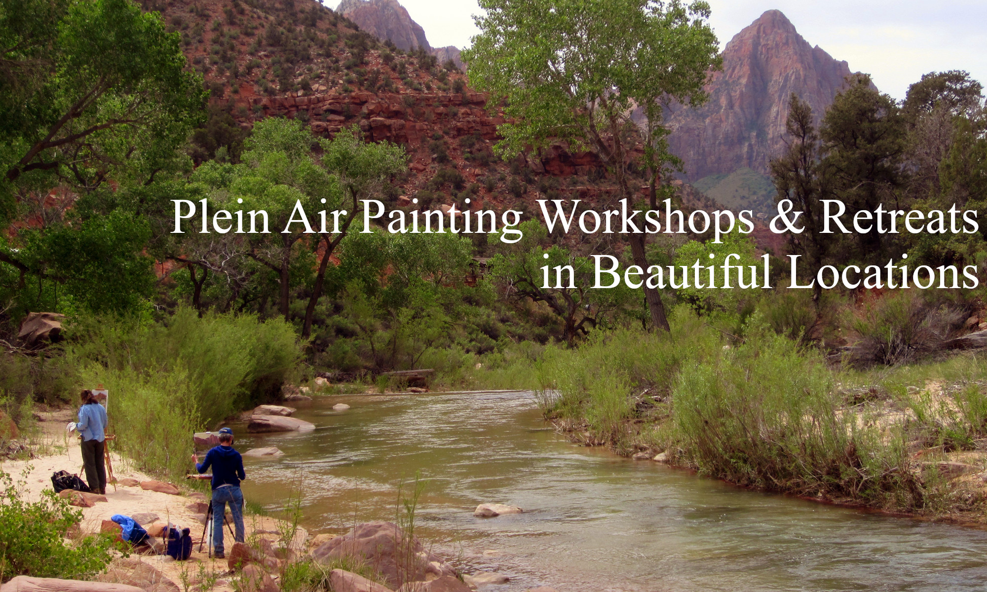 Plein air painting workshops by landscape artist Michael Chesley Johnson