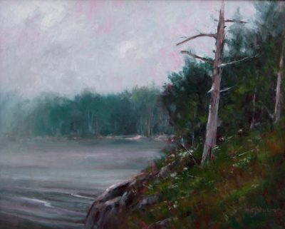 Dead Spruce 12x16 oil by Michael Chesley Johnson