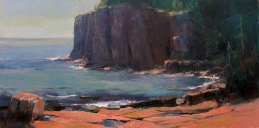 Et in Arcadia Ego 12x24 oil by Michael Chesley Johnson