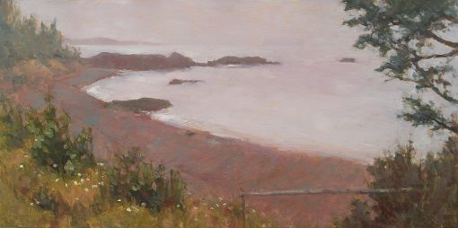 From the Bluff 12x24 oil by Michael Chesley Johnson