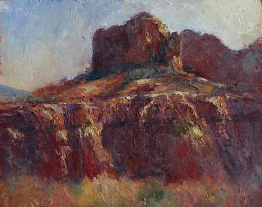 Monumental 10x12 oil by Michael Chesley Johnson