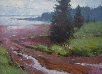 Pirate Cove 12x16 oil by Michael Chesley Johnson