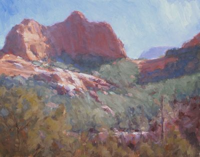 Runoff 11x14 oil by Michael Chesley Johnson