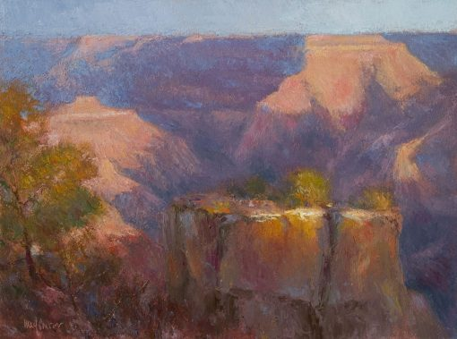 Sunset Glow 12x16 oil by Michael Chesley Johnson
