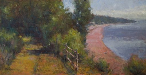The High Route 12x24 oil by Michael Chesley Johnson