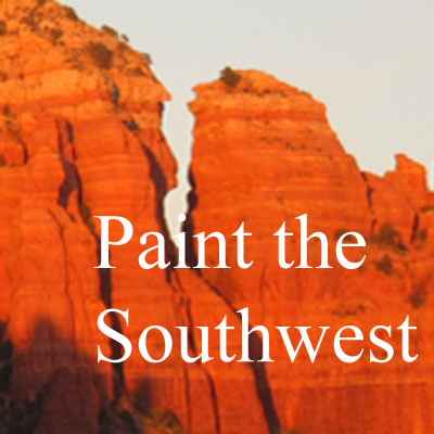 Plein Air Painting Workshops in Sedona, Arizona, with Artist Michael Chesley Johnson