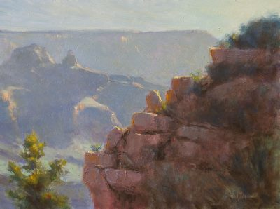 Zoroaster's Court 12x16 oil by Michael Chesley Johnson