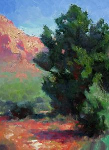Desert Juniper 12x9 Oil