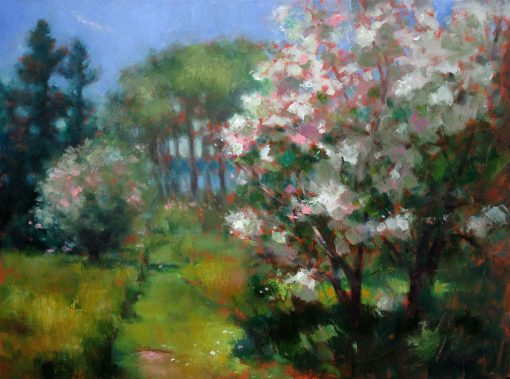 Wild Apples 16x20 oil/canvas by Michael Chesley Johnson