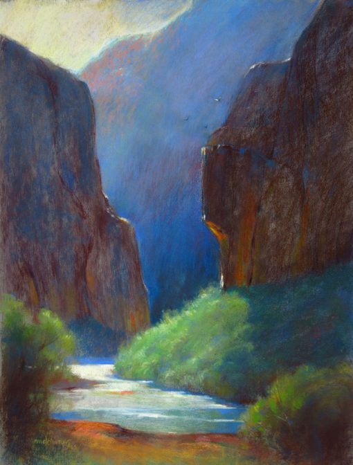 Passage 24x18 Pastel by Michael Chesley Johnson