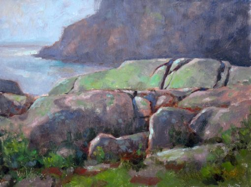 Seascape: Antediluvian 9x12 Oil by Michael Chesley Johnson
