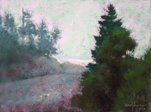 Carrying Place 9x12 Pastel by Michael Chesley Johnson