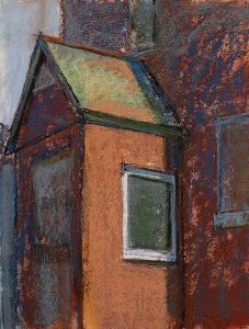 Barre Street 12x9 Pastel by Michael Chesley Johnson.