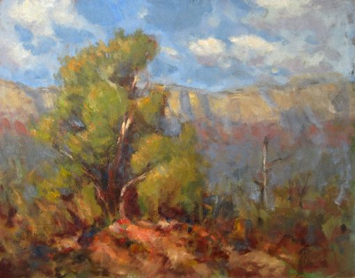 Stand Alone 12x16 Oil by Michael Chesley Johnson