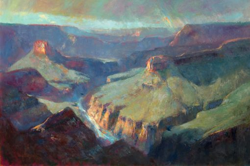 After the Rains 16x24 Oil by Michael Chesley Johnson
