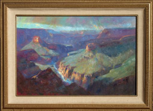 After the Rains 16x24 Oil (In Frame) by Michael Chesley Johnson