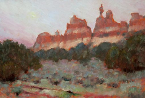 Los Gigantes 12x16 Oil by Michael Chesley Johnson