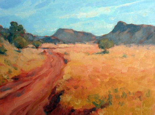 Beautiful Canyon 9x12 Oil by Michael Chesley Johnson