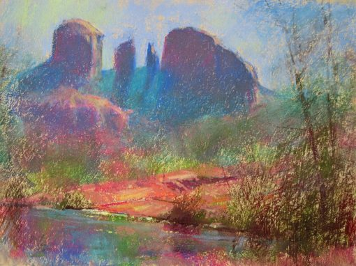 How I See It 9x12 Pastel by Michael Chesley Johnson