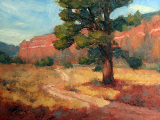 Ponderosa 9x12 Oil by Michael Chesley Johnson